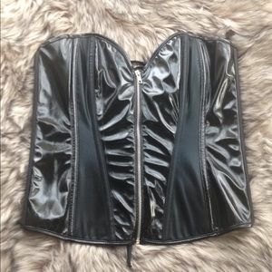 Frederick's Of Hollywood Corset With Extras!
